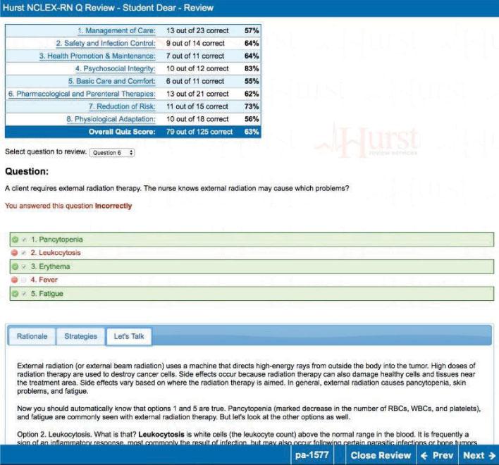 Q Review Simulator Rationale